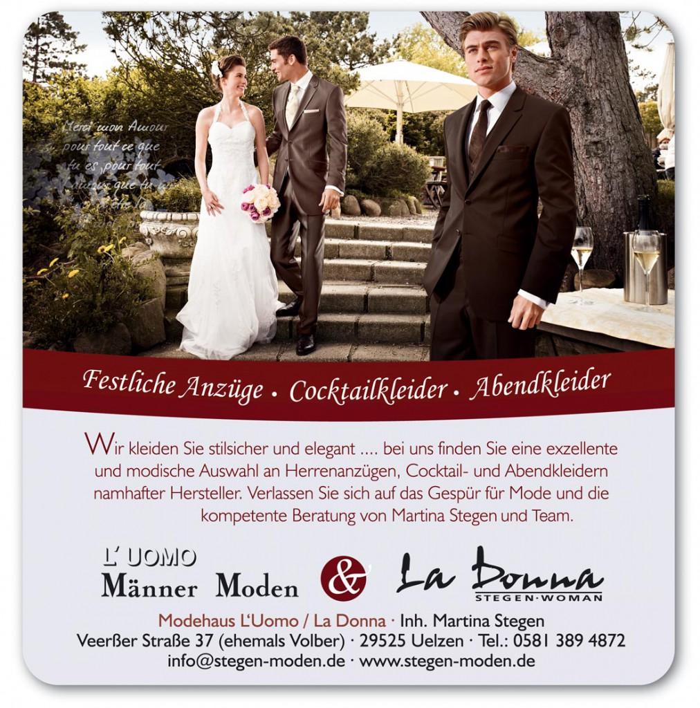 L'uomo & La Donna Herrenmoden und Abendmoden auf der Hochzeitsmesse Uelzen