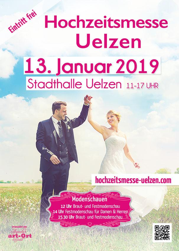 Hochzeitsmesse Uelzen 13. Januar 2019 in der Stadthalle Uelzen